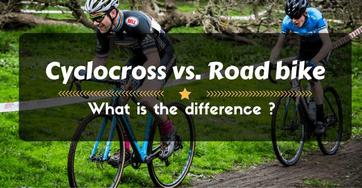 Cyclocross vs. Road bike