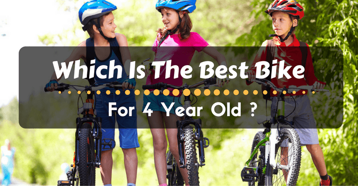 best bike for 4 year old