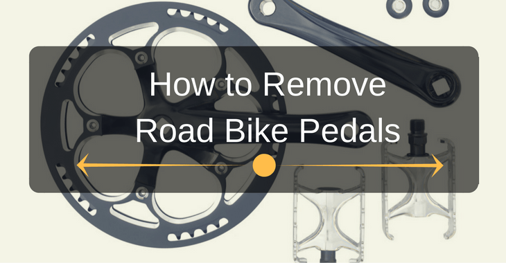 How to Remove Road Bike Pedals