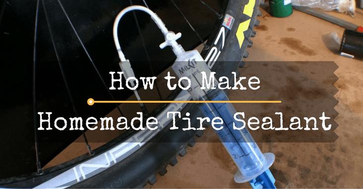 Homemade Tire Sealant