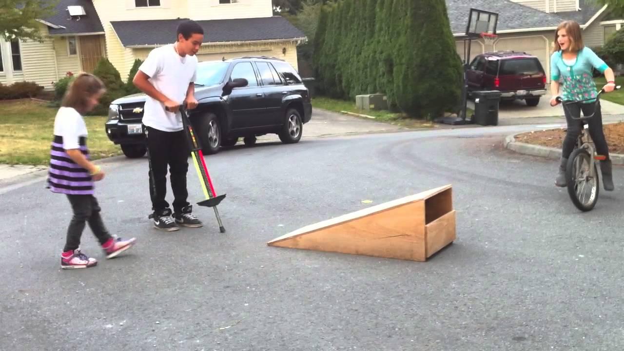 Homemade Bike Ramp